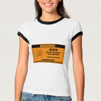 Ninja Warning T-Shirt