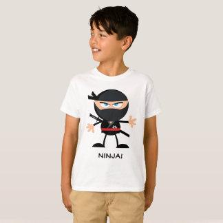 Ninja Warrior Cartoon T-Shirt