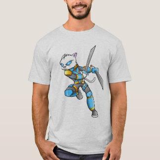 Ninja Warrior Cat T-Shirt