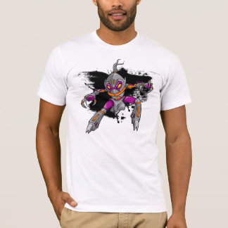 Ninja Warrior Cyborg  T-Shirt