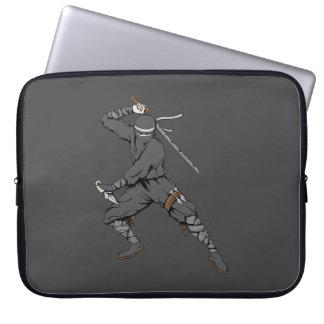Ninja Warrior Martial Arts Laptop Computer Sleeve