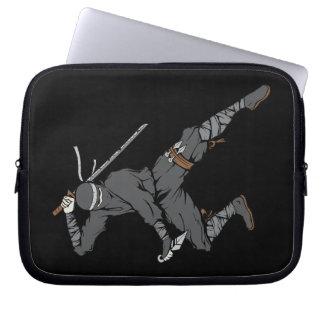Ninja Warrior Martial Arts Laptop Sleeves