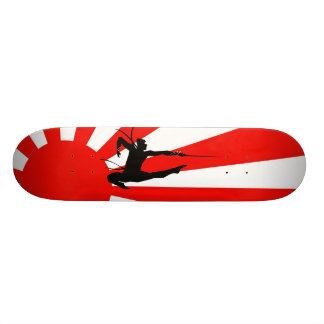 Ninja Warrior Skateboard