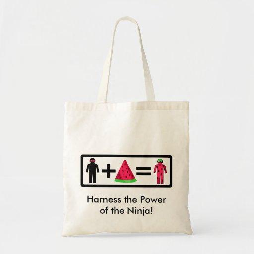 Ninja Watermelon Bag