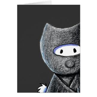 Ninja Westie Tarjeta Pequeña