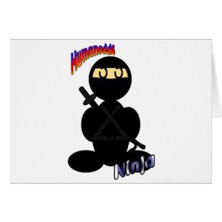 Ninja (with logos) card