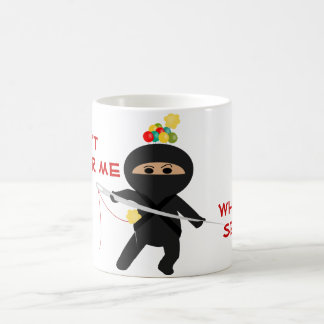 Ninja With Sewing Needle Mug