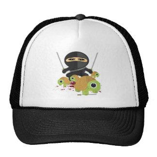 Ninja with Turtles Trucker Hat