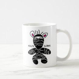 Ninja Zebra Mug