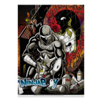 """NinjaBoy"" poster from ToteMan's World comic"