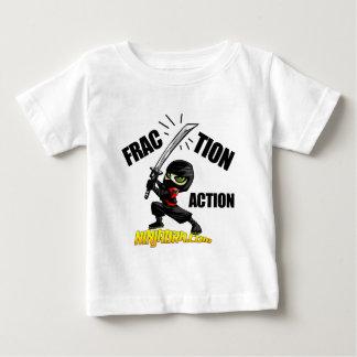 "Ninjabra - Wasabi ""Fraction Action"" Baby T-Shirt"