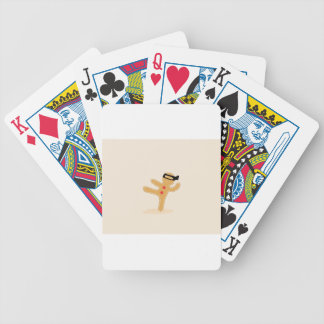 Ninjabread Man Bicycle Playing Cards