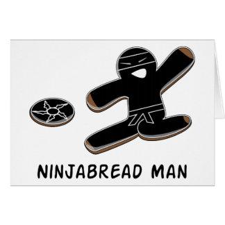Ninjabread Man Card