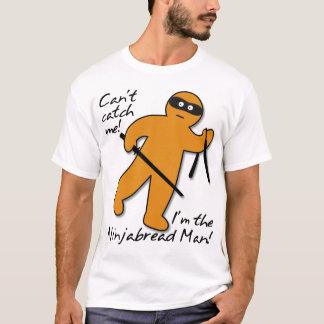 Ninjabread Ninja Gingerbread Man Funny Shirt