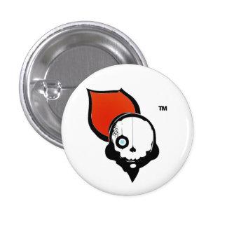 NinjaCruise Skull 1 Inch Round Button