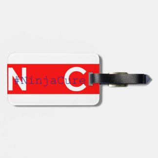 #NinjaCure Luggage Tag0.2 Travel Bag Tag