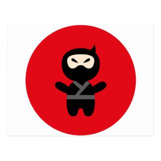 NinjaCutie4 Tarjeta Postal