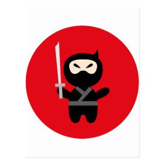 NinjaCutie5 Tarjetas Postales