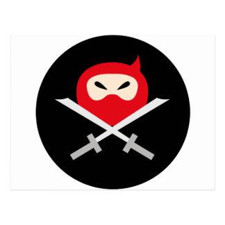 NinjaCutie8 Tarjetas Postales