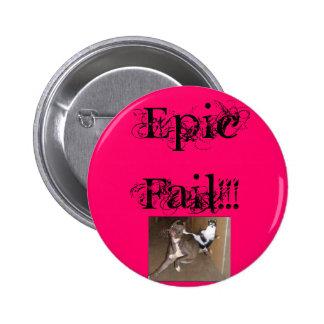 ninjakittycat, Epic Fail!!! 2 Inch Round Button
