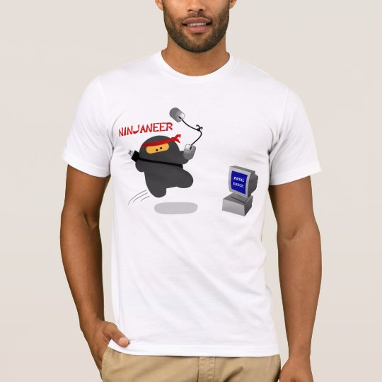Ninjaneer vs. Fatal Error T-Shirt