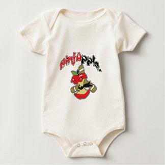 NinjApple Akio character Baby Bodysuit