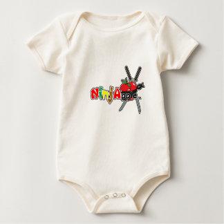 NinjApple Nobu character Baby Bodysuit