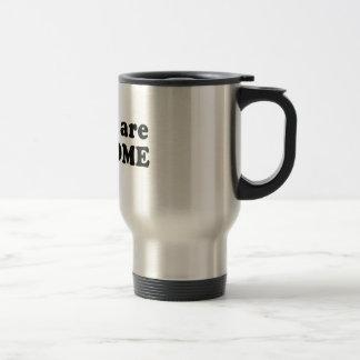 NINJAS ARE AWESOME COFFEE MUG