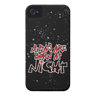Ninja's Are Born At Night Case-Mate iPhone 4 Case