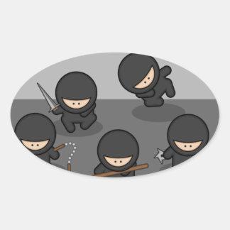 Ninjas Custom Stickers