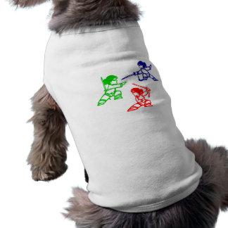 Ninjas Camisas De Mascota