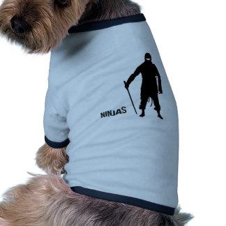 Ninjas Camiseta De Perro