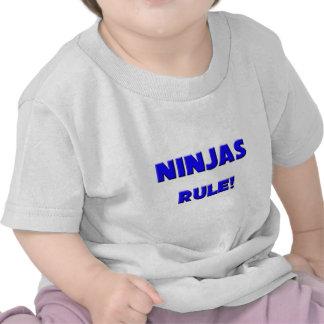 Ninjas Rule! Tee Shirts