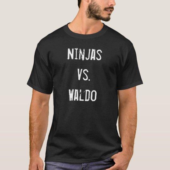 Ninjas Vs. Waldo T-Shirt