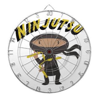 Ninjutsu Dart Board