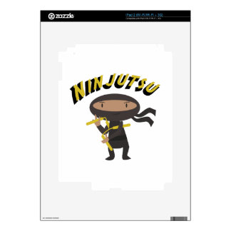 Ninjutsu iPad 2 Decal