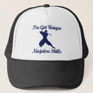 ninjutsu martial art designs trucker hat