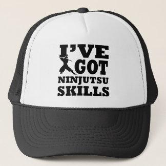 Ninjutsu Martial Arts designs Trucker Hat