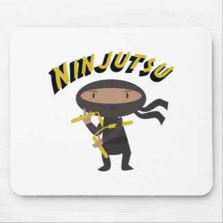 Ninjutsu Mouse Pad
