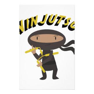 Ninjutsu Papelería Personalizada