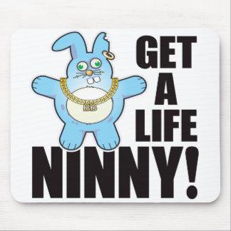Ninny Bad Bun Life Mouse Pad