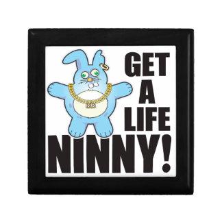 Ninny Bad Bun Life Trinket Boxes