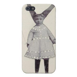 ninny bunny girl by Lynn Whipple iPhone SE/5/5s Case