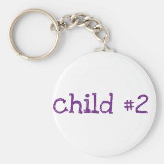 niño #2 llavero redondo tipo pin