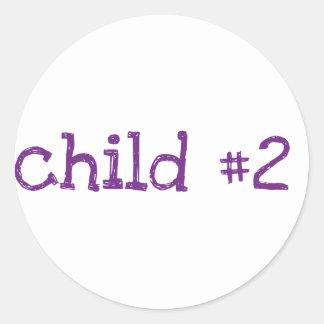 niño 2 etiqueta