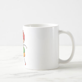 Niño activo taza básica blanca