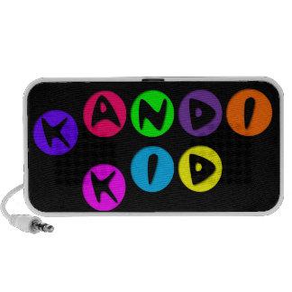 Niño adaptable de Kandi del arco iris Mini Altavoces