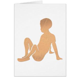 Niño africano tarjeta de felicitación