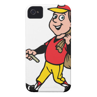Niño alegre del boy scout limpio de la litera buen funda para iPhone 4 de Case-Mate