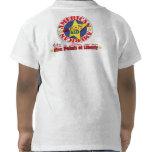 NIÑO americano Camisetas